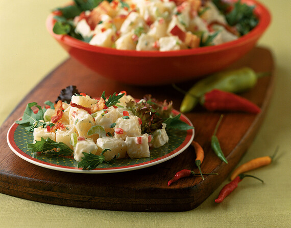 Festive Warm Idaho® Potato Salad