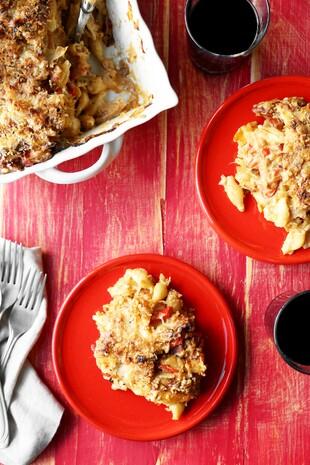 Idaho® Potato Spanish Mac and Cheese