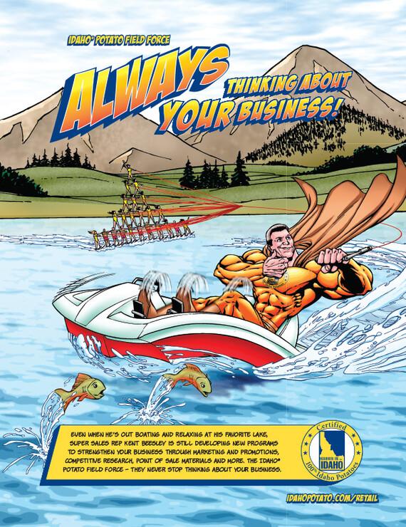 Always: Paddle Boat