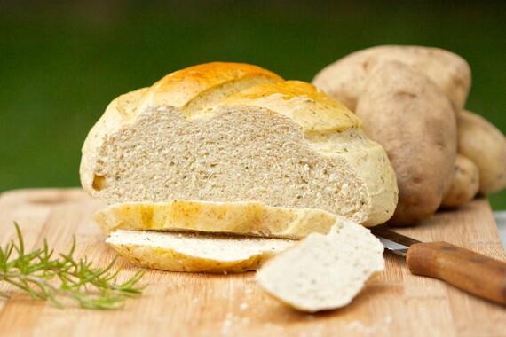 Dutch Oven Herbed Idaho® Potato Bread