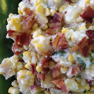 Creamy Corn and Idaho® Potato Salad with Buttermilk Bacon Dressing