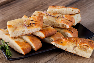 Idaho® Potato and Red Onion Focaccia