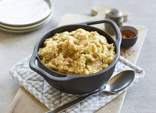 Creole Mashed Idaho® Potatoes
