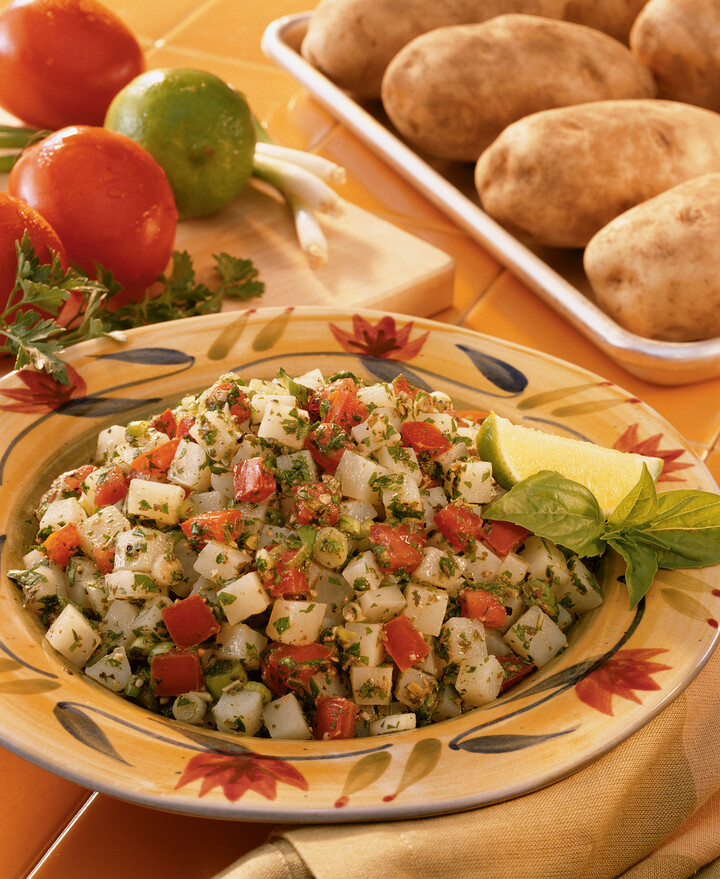 Lime Basil Idaho® Potato Tabbouleh