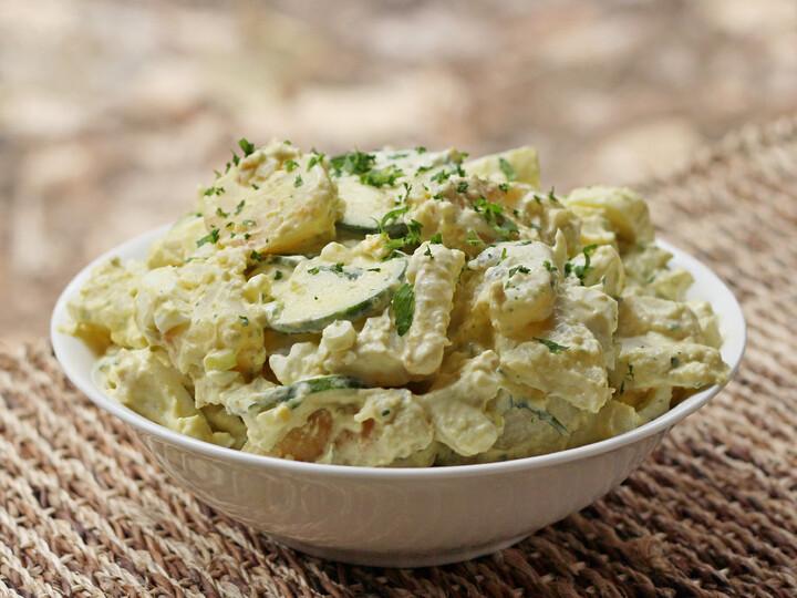 Idaho® Home Fry Potato Salad with Poblano Mayonnaise