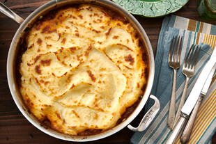 Skillet Cottage Pie for Idaho® Potatoes