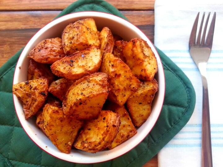 Baked Jerk Idaho® Potatoes