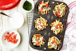 Idaho® Potato Muffins With Smoked Salmon, Chives and Sour Cream