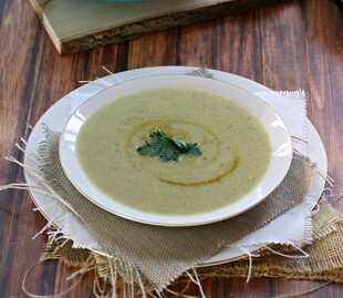 Curried Potato and Broccoli Soup