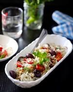 Easy Greek Idaho® Potato Noodles with Fresh Mint