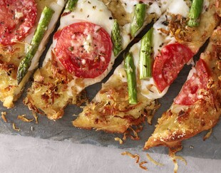 Idaho® Potato Pizza Margherita Style