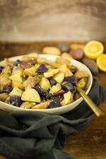 Tri-Color Lemony Potato Salad