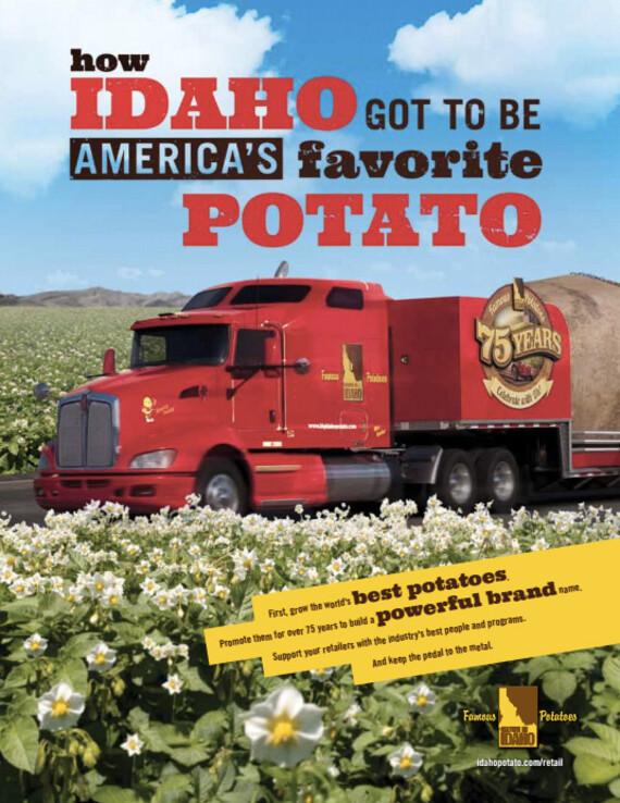 How Idaho Got To Be America's Favorite Potato