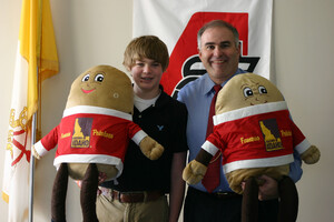 Idaho® Potato Commission Awards $10,000 to High School Student Who Wins Harvest Game Sweepstakes