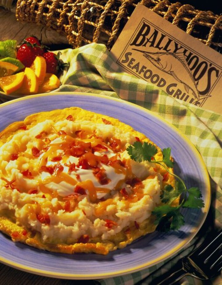 Heart-Healthy Mashed Idaho® Potato Omelet