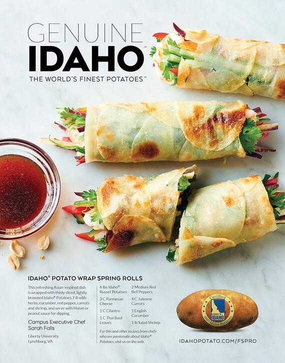 Idaho® Potato Wrap Spring Rolls