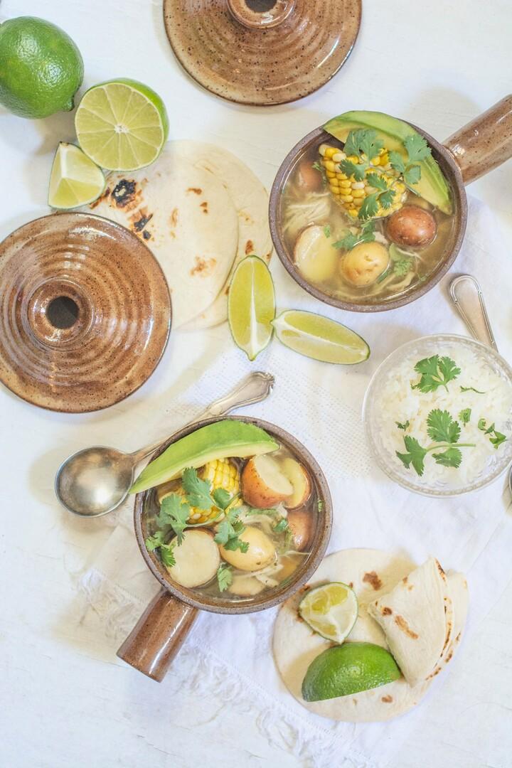 Colombian Chicken Corn and Idaho® Potato Stew