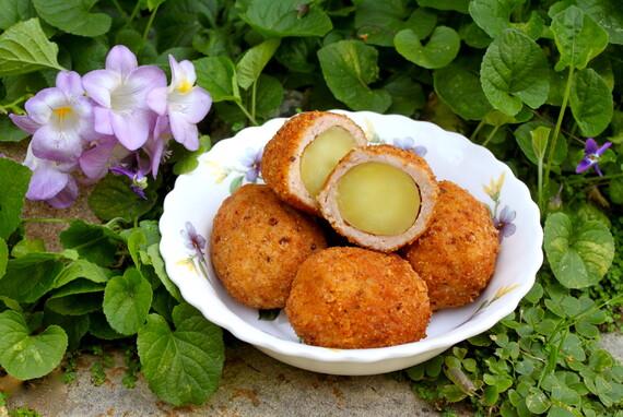 """Idaho® Potato Scotch """"Eggs"""""""