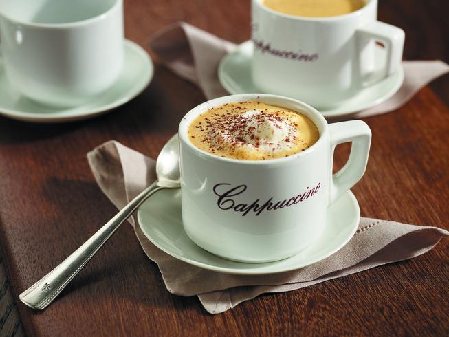 Potato Cappuccino with Potato Froth