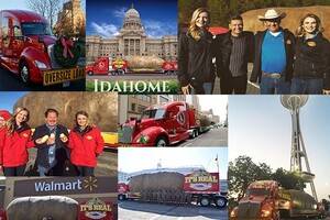 And…It's A Wrap! After Nine Months On The Road The 2018 Big Idaho® Potato Truck Tour Has Officially Ended