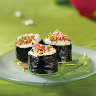 Idaho® Potato and Spiced Ahi Maki Roll