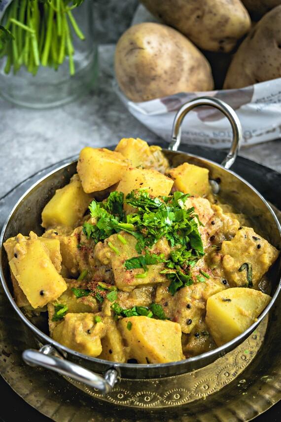 Vegetarian Idaho® Potato Roganjosh