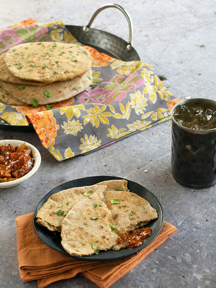 Idaho® Potato Stuffed Whole Wheat Flatbread (Aloo Paratha)