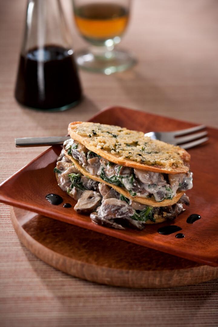 Mushroom and Idaho® Potato Lasagna