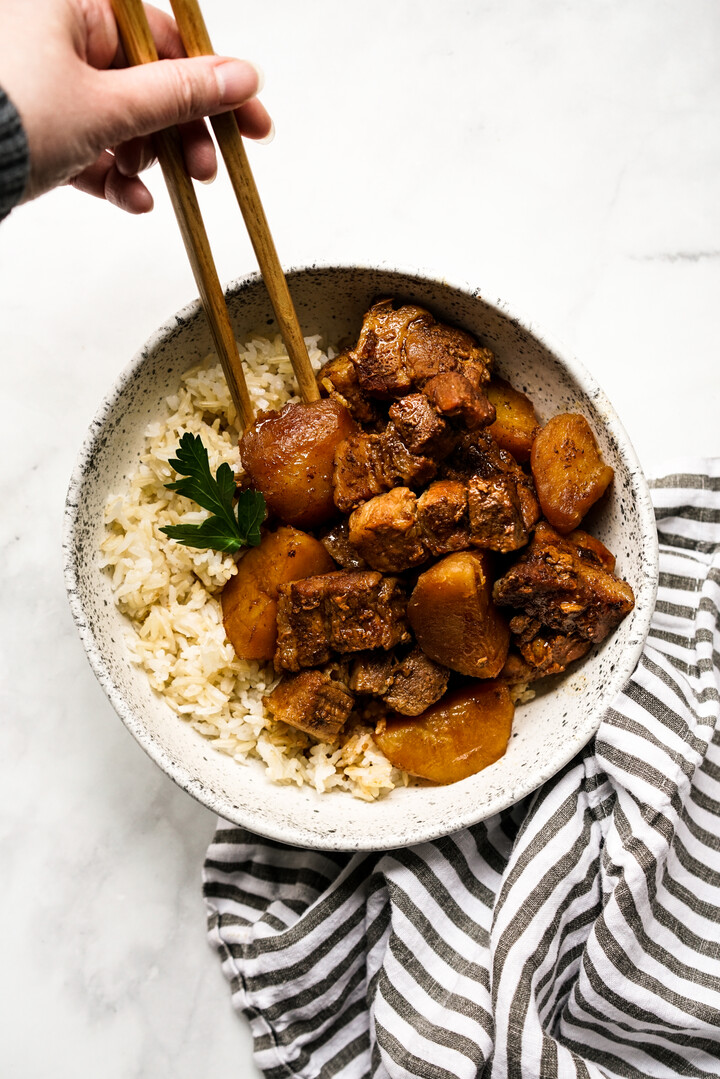 Singaporean-Braised Pork Belly