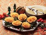 Idaho® Potatoes and Parsnips in Acorn Squash Bowls