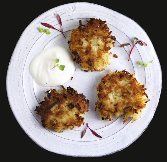 Easy Idaho® Potato Latkes