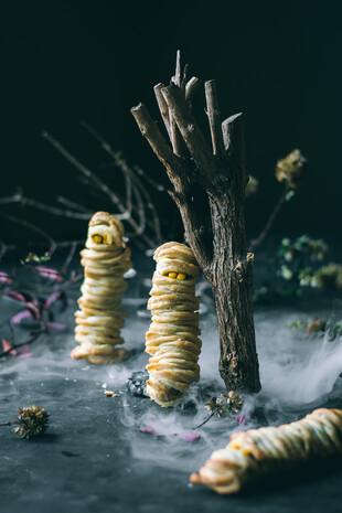 Potato Puff Mummies