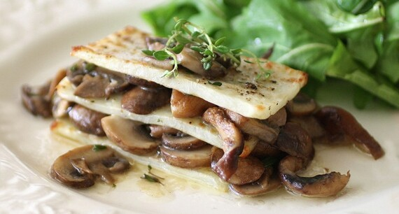 Idaho® Potato and Mushroom Lasagna
