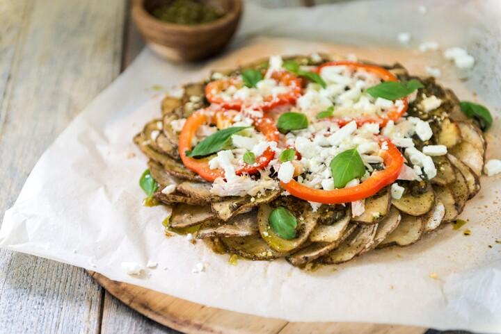 Potato Pizza Crust (Gluten Free)