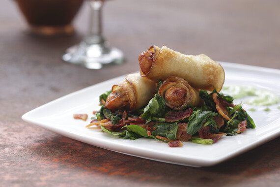 Idaho® Potato Wrapped Oyster Rockefeller