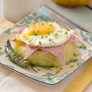 Breakfast Potato Timbale