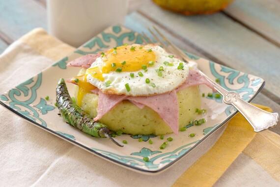 Breakfast Potato Timbale