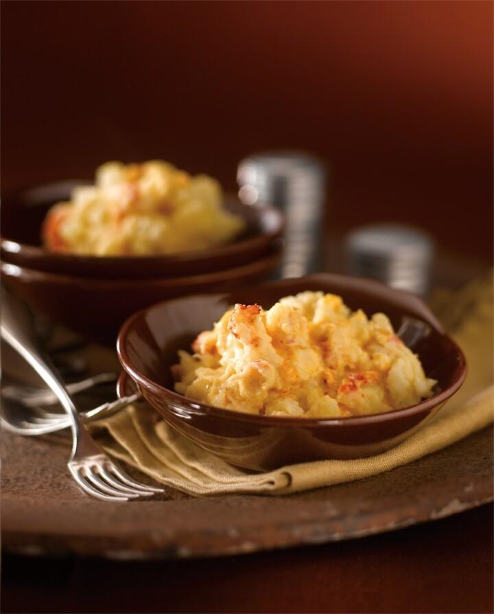 Crawfish Mashed Idaho® Potatoes