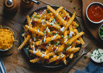 Loaded Bacon Cheese Fries