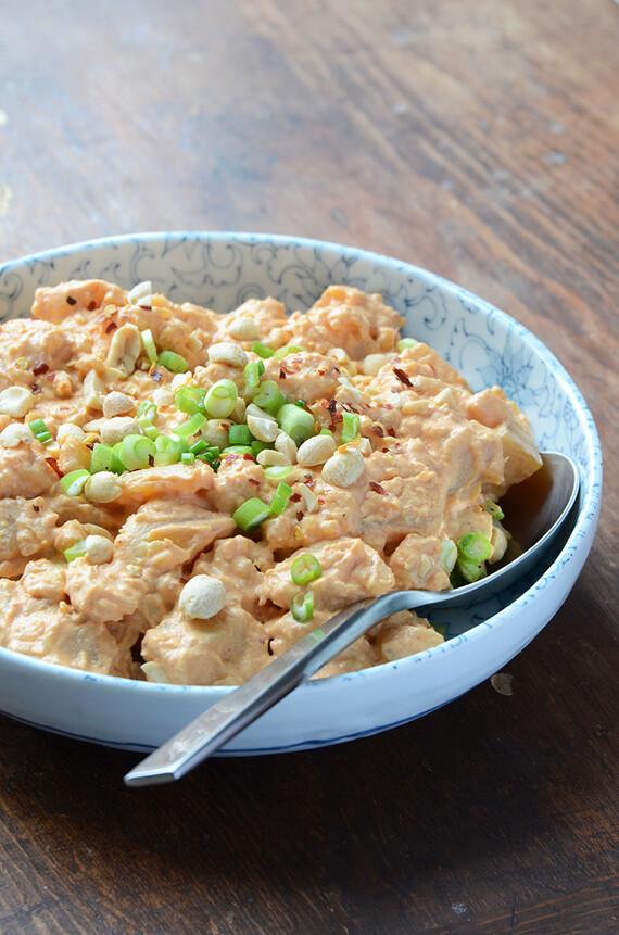 Massaman Curry Idaho® Potato Salad (aka Peanutty Thai Curry Idaho® Potato Salad)