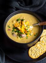 Instant Pot Potato Corn Chowder
