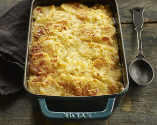 Idaho® Potato and Kohlrabi Gratin