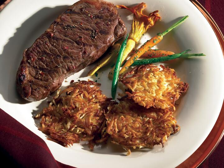 Celery Root Idaho® Potato Pancakes