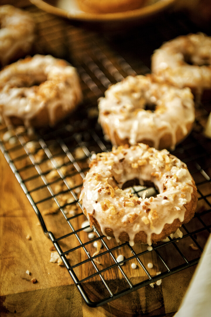 Gone in an Instant Idaho® Potato Donuts