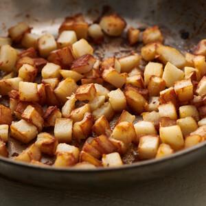 Crispy Stovetop Potatoes for Idaho® Potatoes