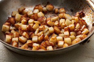 Crispy Stovetop Potatoes for Idaho® Potatoes