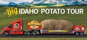 Heeding Farmer Mark's Plea, The Big Idaho® Potato Truck is Heading Home