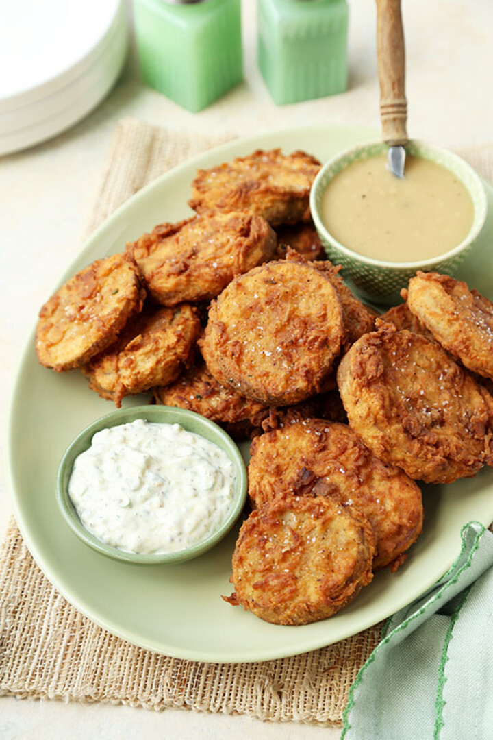 Chicken Fried Idaho® Potatoes with Smoked Potato Remoulade