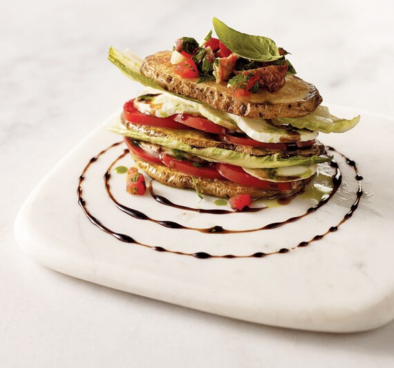 Idaho® Potato Panzanella Stack