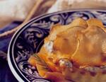 Warm Potato Tarts With Smoked Salmon And Dill Créme Frache